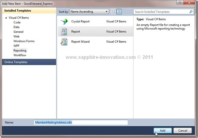 How To Use Reportviewer To Create Addressing Label Never