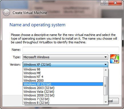 Virtualbox Os Images