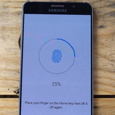 Sumsang Galaxy S6 fingerprint scanner finds no match and how to fix